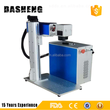 Max/Raycus/IPG 20w 30w 50w stainless steel fiber color laser marking machine for sale