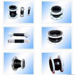 Double Sphere High Pressure pipe inserts rubber coated pipe