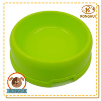 round recycled oem dog feeding trough