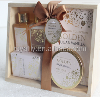 skin care bath gift set