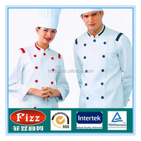 medical chef uniform fabric 65% polyester 35% cotton poplin fabric
