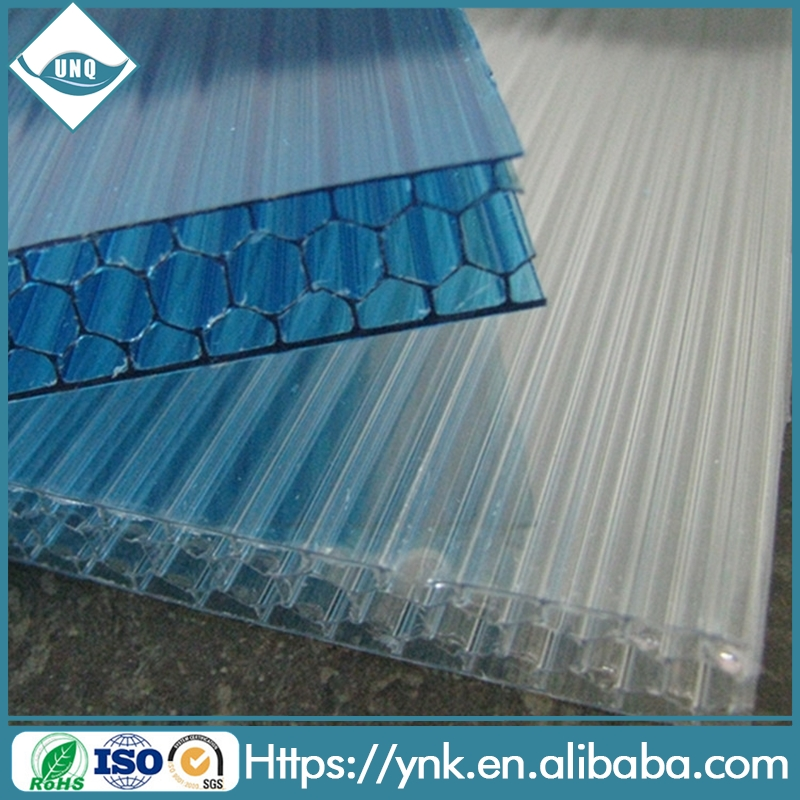 UV Protection Coated Polycarbonate Honeycomb Sheet PC Resin Roofing Factory Price Panels Hot Sale