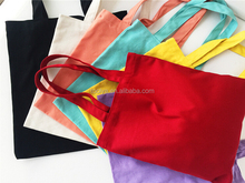 wholesale reusable shopping bags canvas cotton tote bag