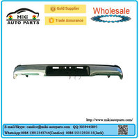 For Hilux Vigo 2012 Stainless Steel Rear Bumper