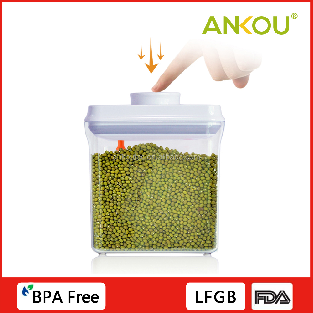All kinds of cereal food storage container with lids