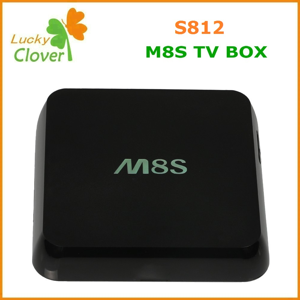 Amlogic S812 Quad Core 5.0 MP camera TV Box ,2.0GHz 4K Android 4.4 Airplay Miracast 2G/8G XBMC TV BOX Camera m8s