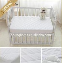 Baby Luxe 100% Cotton Quilted Waterproof Bassinet Mattress Pad