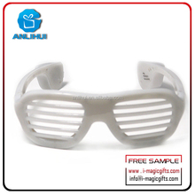 New Products Party Favor Sound Activated Flashing Led light Sunglasses