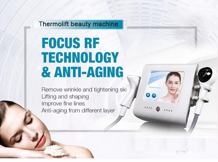 Mini Portable Focus RF Thermal Skin Tightening Facial Lift Wrinkle RF Beauty Spa RF Machine FQG01