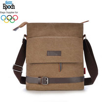 2.9L fashion waterproof canvas mens shoulder bag,Hot product designer men shoulder bag
