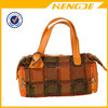 china manufacture fashion lady genuine leather handbag