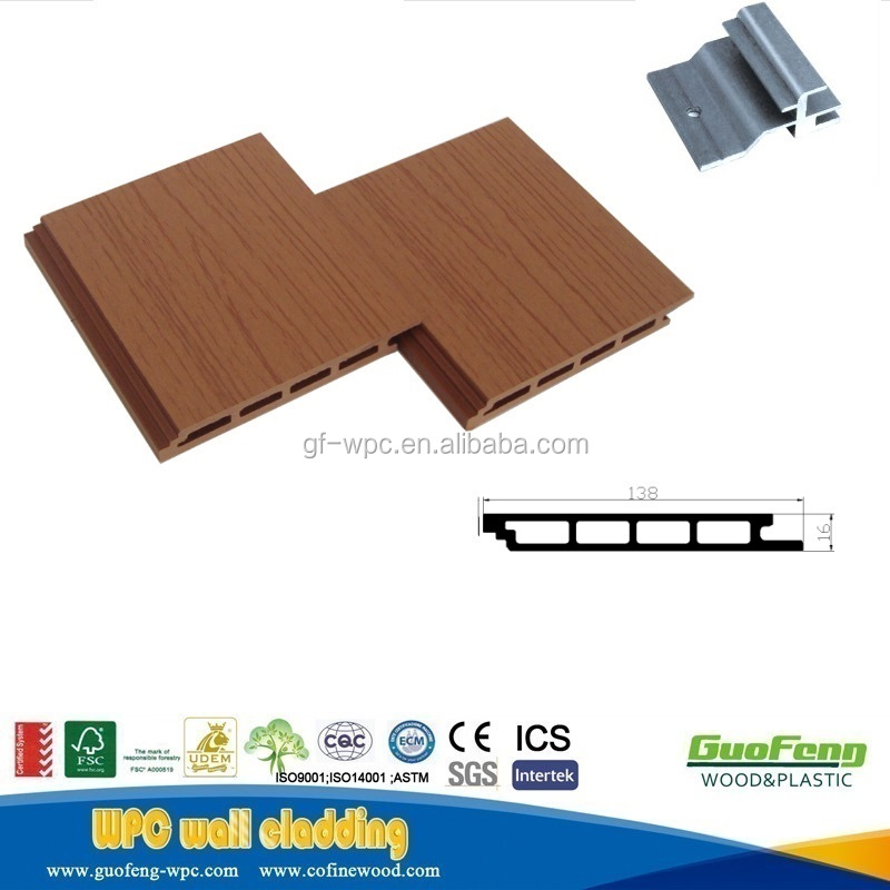 wpc wall panel, wood plastic composite decorative board