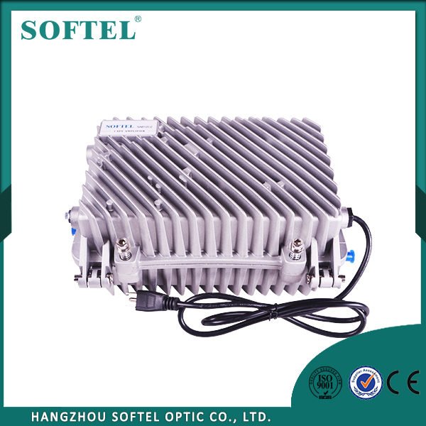 SOFTEL AGC RF Amplifier Cable TV Signal Booster Line Amplifier