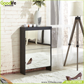 2 drawers mirror shoe rack designs wood