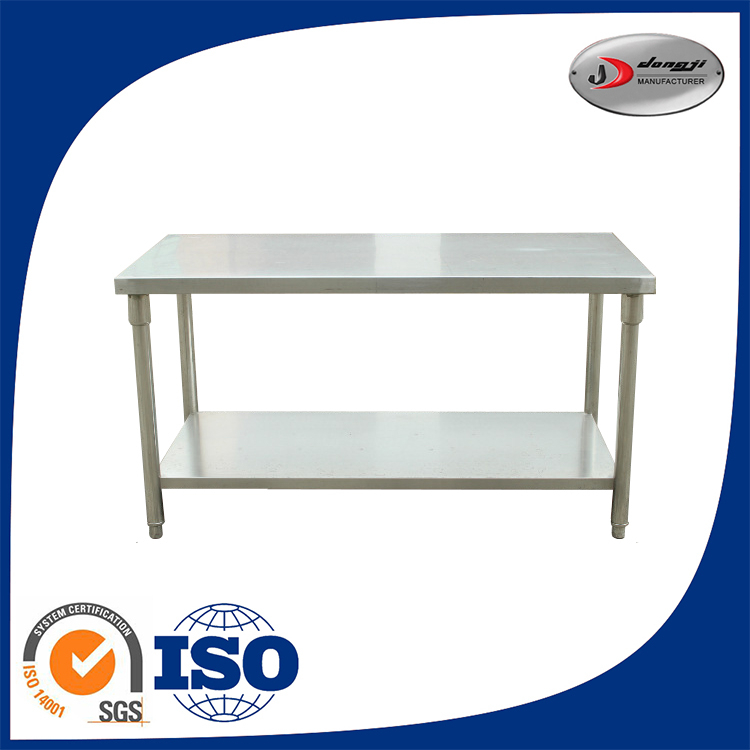double layer commercial stainless steel adjustable drafting table