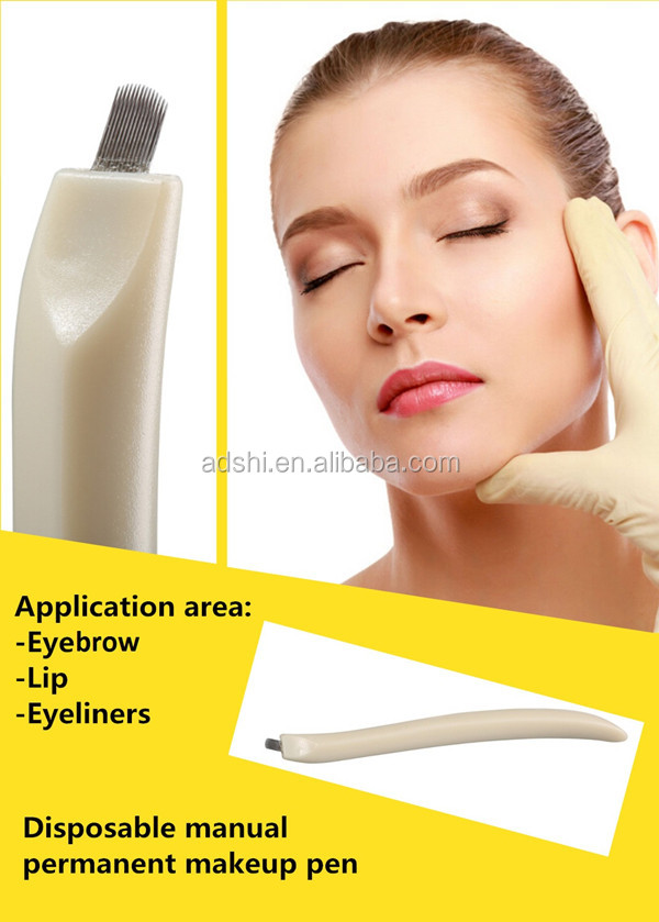 Wholesale disposable microblading eyebrow pen