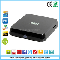 Factory Supply Quad Core Android TV M8 Box Smart TV box