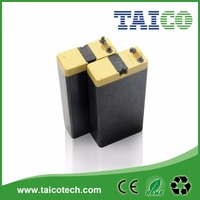 LED torch 4V 2Ah Rechargeable Lead Acid Battery