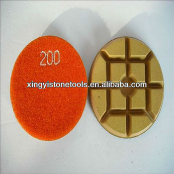 diamond polishing pad holder