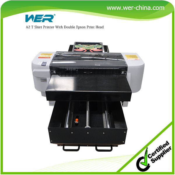 Best selling A2 420*900mm WER-D4880T dtg printer,fabric printer machine