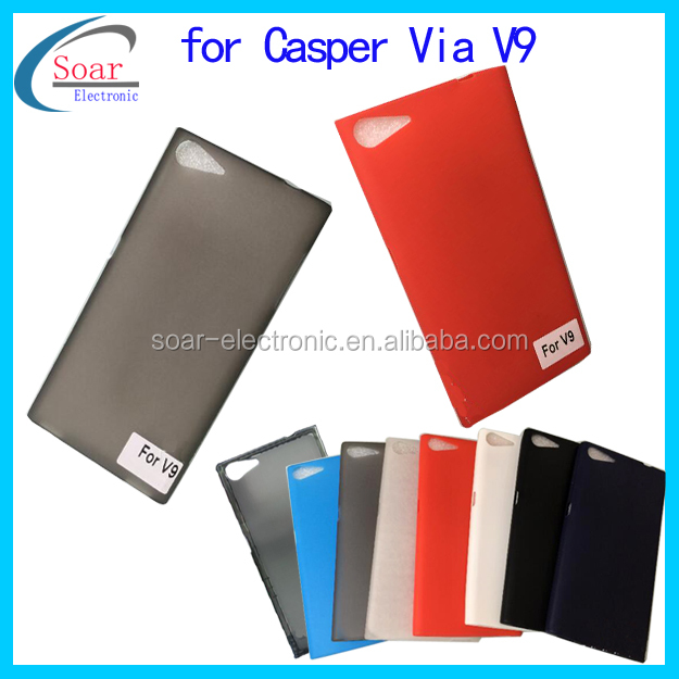 New arrival matt tpu case cover for Casper Via V9, tpu gel silicone case for Casper Via V9