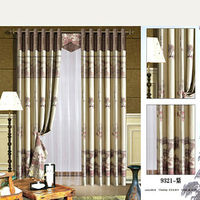 2014 china wholesale ready made curtain,curtain with lace lining