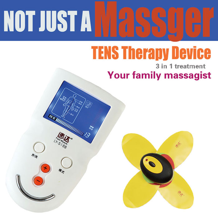 magnetic therapy massager tens breast massager electrode pads electronic physiotherapy device