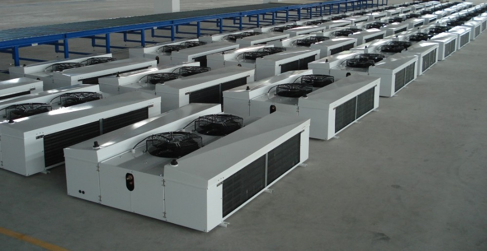 Double-side blowing air cooler,cooling room evaporator for cooling units