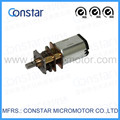 12*9mm low speed low voltage small gear reducer with electric motor