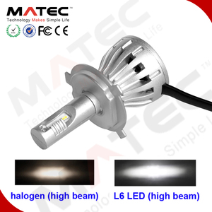 All in one plug and play LED headlight h4 30w head lamp h13 9005(HB3) 9006(HB4) h1 h7 h15 h11 h16 led car headlight kit