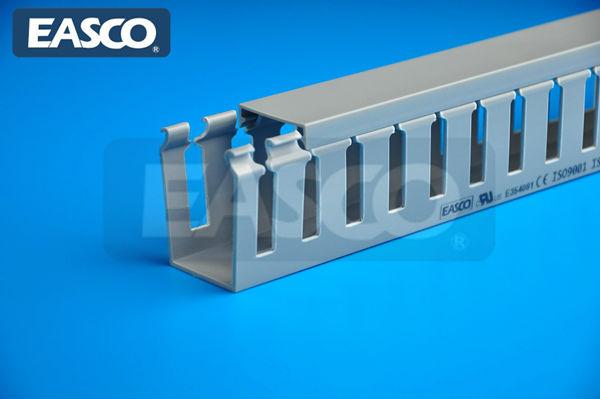 EASCO Cable Running Open Slot PVC Material Wire Ducts