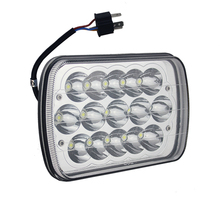 Wholesales truck LED headlight 45W with high low beam plug