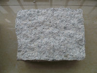 shandong grey cube stone for paving