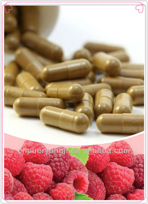 High Quality Raspberry Ketone Capsule OEM Reduce Fat Fast Pills