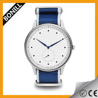 New Design Promotional Customized nylon watch with interchangeable nylon strap, sports watch with nylon strap