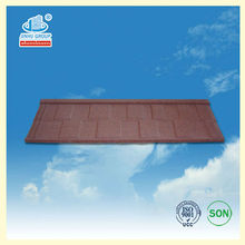 Colorful stone coated decorative roof tiles