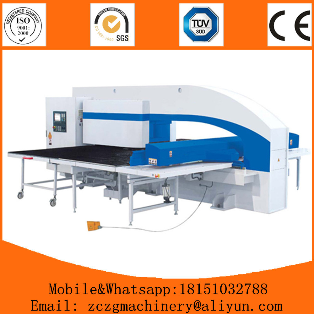 Made in China sale special purpose cnc punching machine for punching holes on thick plate