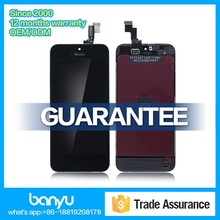 Top quality for apple iphone 5s lcd screen digitizer assembly
