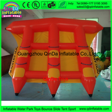 0.9mm PVC inflatable flying manta ray banana boat price inflatable flying fish towable