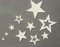 Customized design mirror acrylic stars acrylic mirror