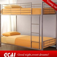 Luxury lastest design metal home furniture italian bunk bed