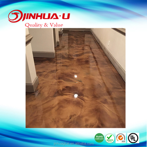 Clear Resin for Epoxy Metallic Floor