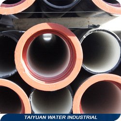 iso 2531 k9 k10 ductile iron pipe 4 inch with rubber ring