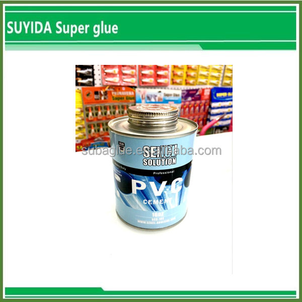 Pvc solvent Cement/UPVC Pipe Glue/Clear Pvc Pipe Cement