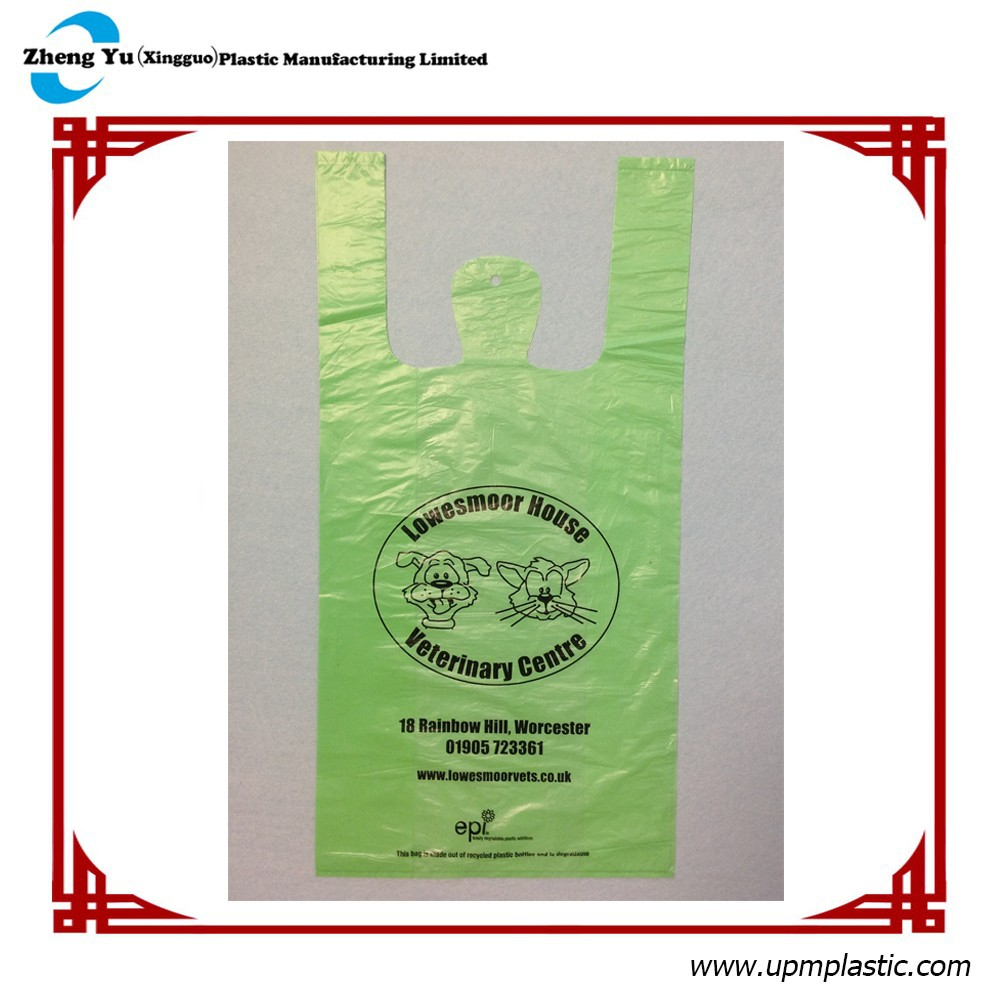PE Plastic T-shirt shopping bag