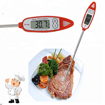 2018 newest product Big button digital cooking thermometer