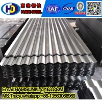 hot aluminium zinc corrugated steel roofing sheet