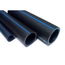 Competitive price ISO4427 flexible plastic black hdpe water pipe 4 inch 4""