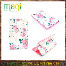 "8.4"" Android Tablet Case Printed Leather Flip Cover for Samsung T320"