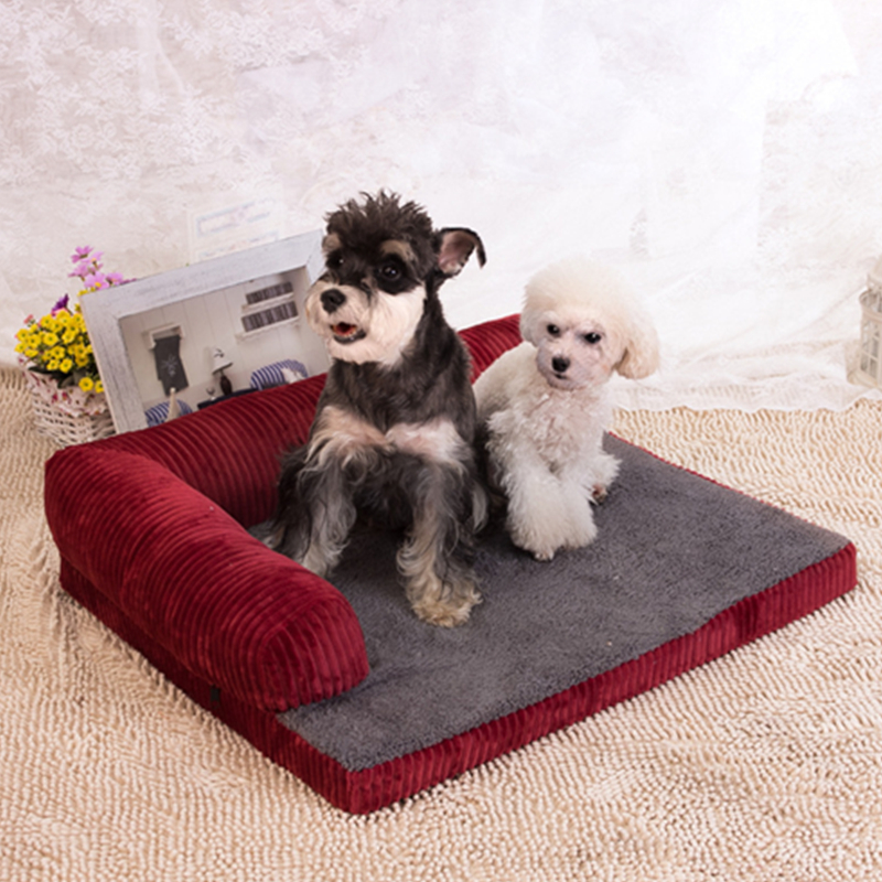 Pet Product Cute Memory Foam M Dog Bed